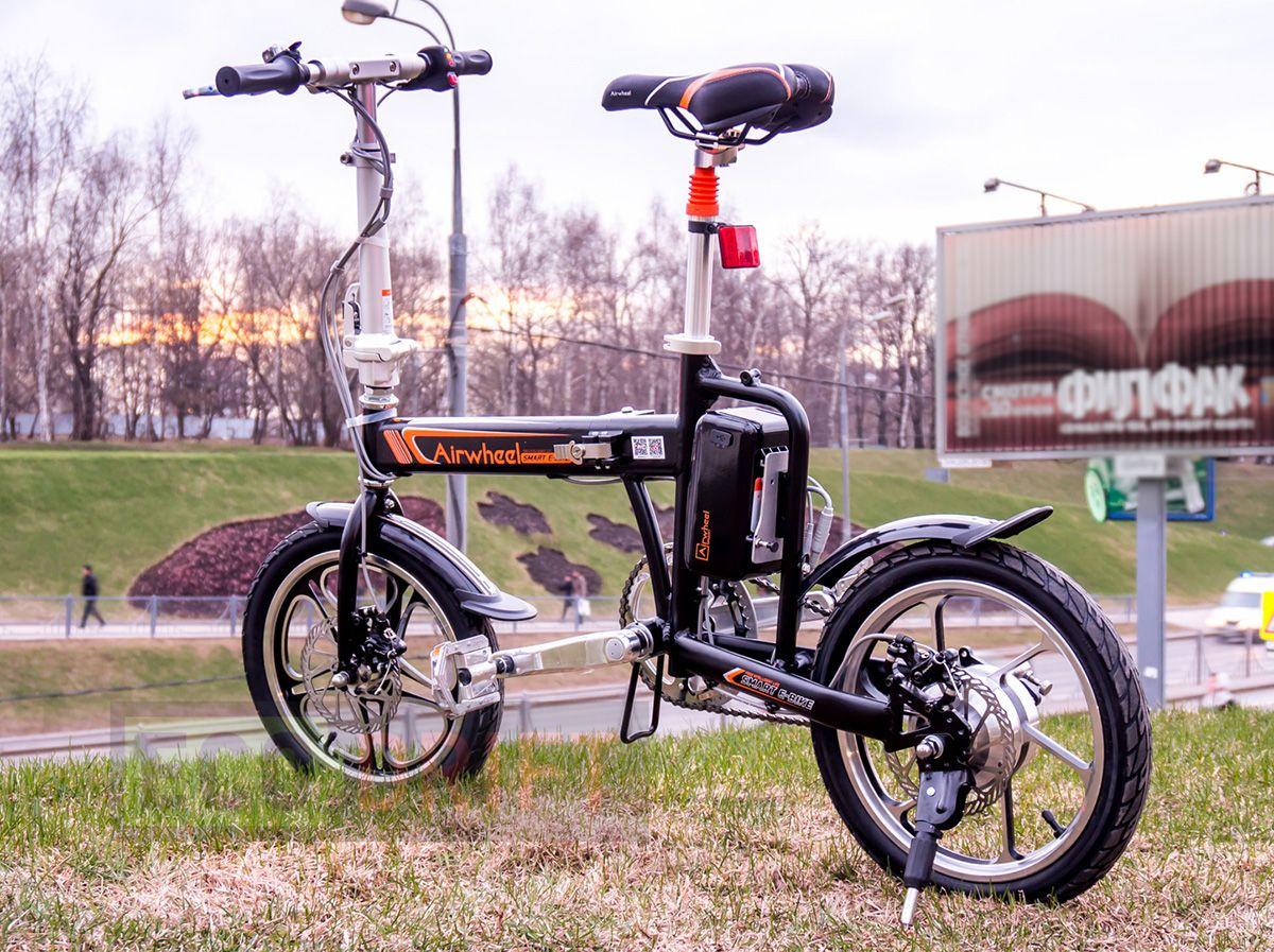 Airwheel R5 Smart Assist Electric Bike Conveniences of a