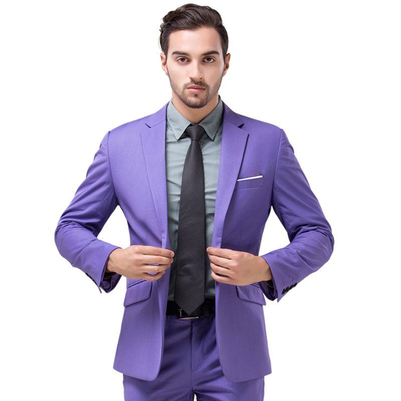 Trajes-de-color-lila-para-caballeros | Caballeros | Pinterest ...