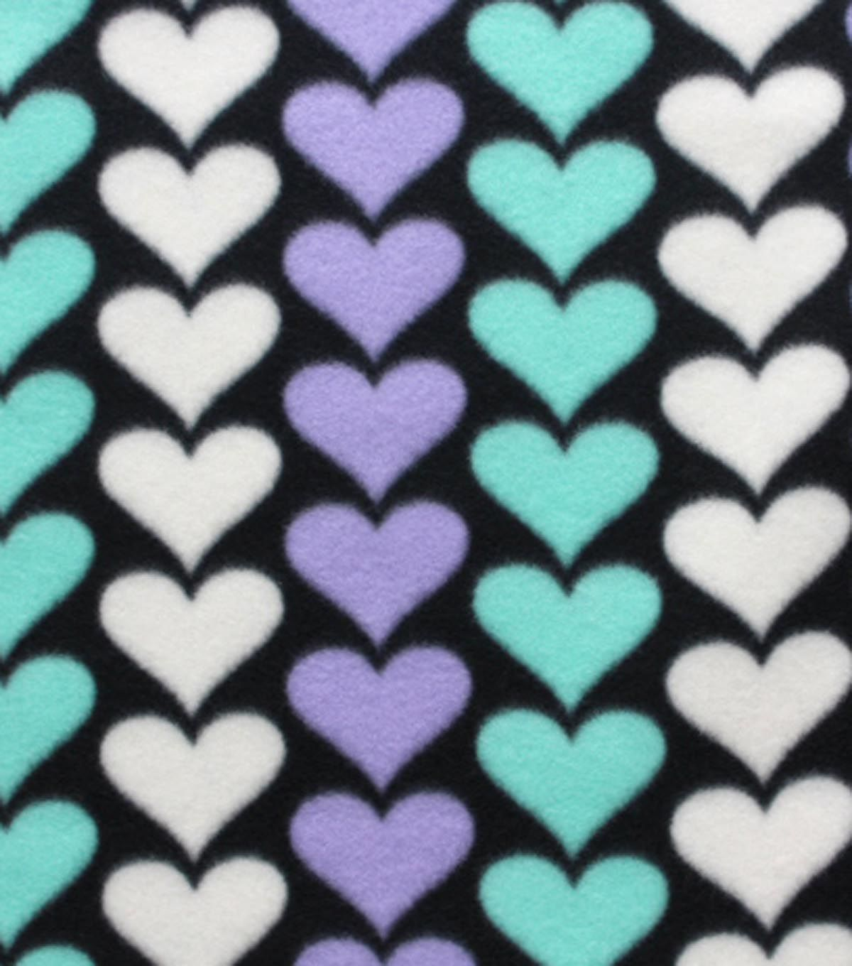 Blizzard fleece fabric mint hearts products pinterest products