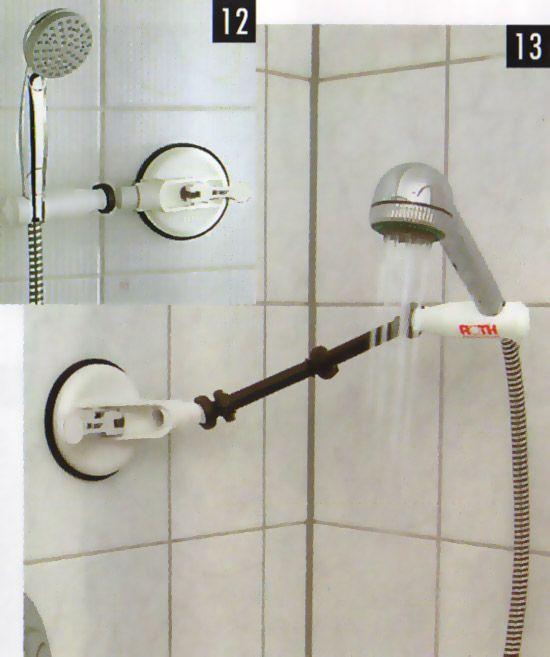 Portable Shower Head Holder - Shower Ideas