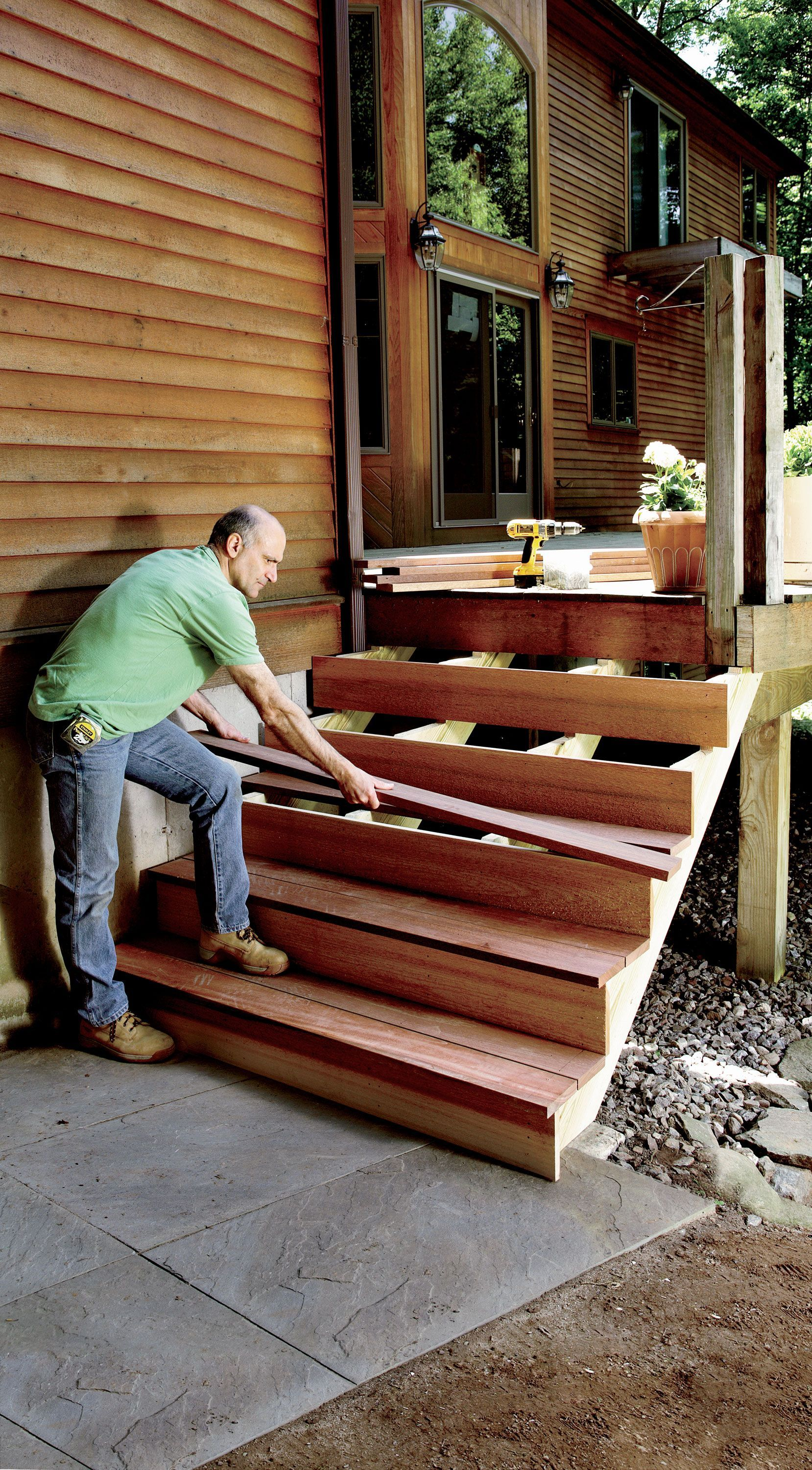 Building a staircase even a short one isnt simple it