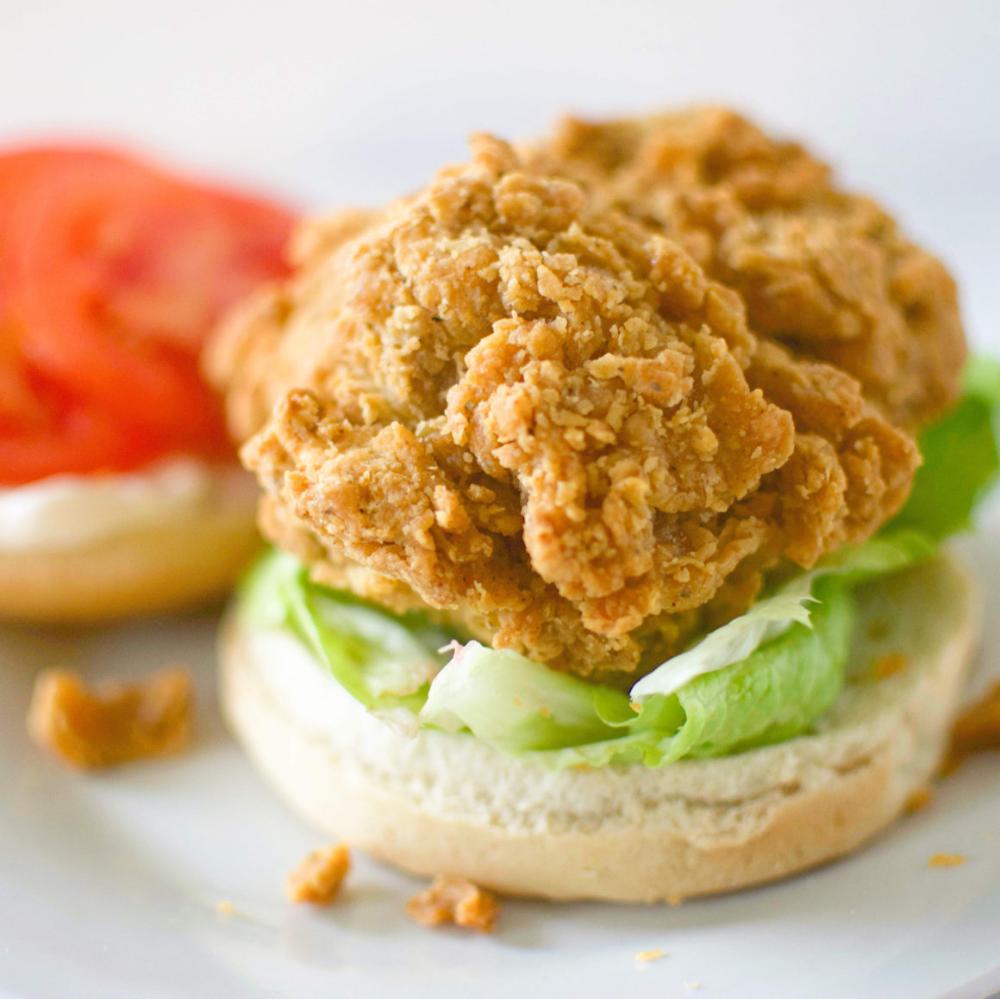 Atlas Monroe Vegan Fried Chicken Review I Can You Can Vegan Icanyoucanvegan In 2020 Vegan Fried Chicken Vegan Fries Fried Chicken