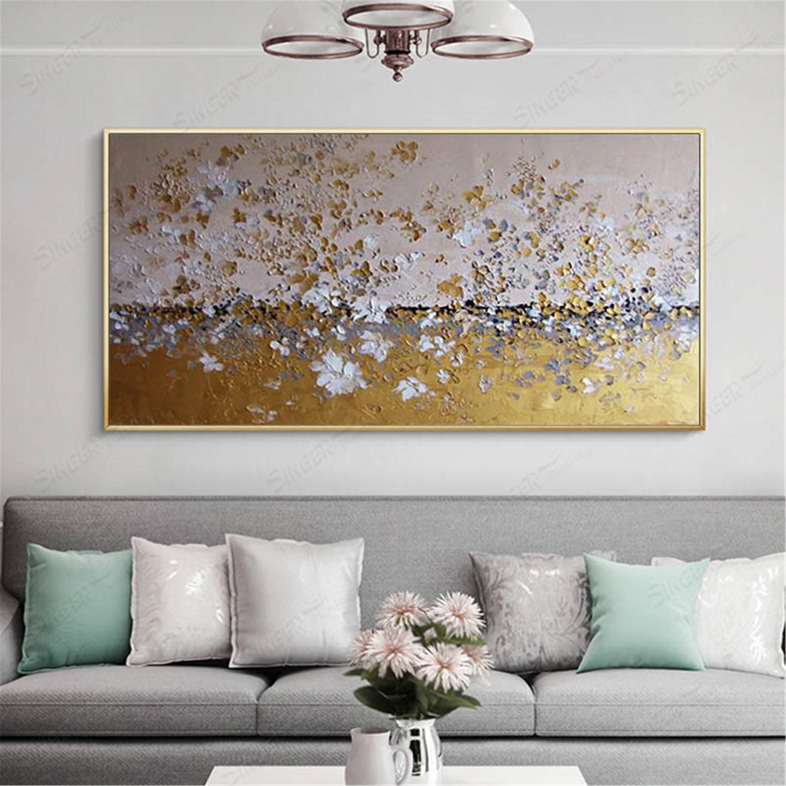 Gold Art Abstract Painting Silver Wall Art Pictures For Living Etsy In 2020 Textured Wall Art Silver Wall Art Wall Art Pictures #silver #living #room #wall #decor
