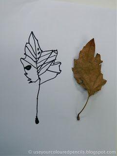 Leaf Drawings   Leaf drawing, Observational drawing, Drawings