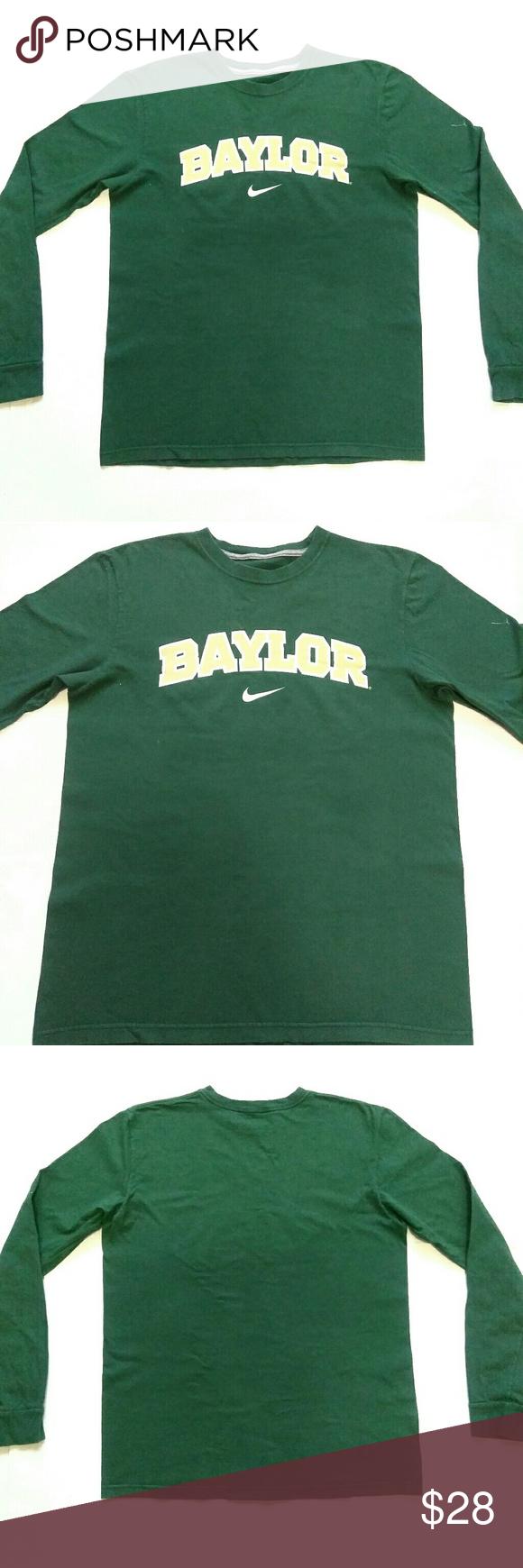quality design 6208c 9ca1b Nike Baylor Bears Long Sleeve T Shirt Mens Medium You are buying  Nike  Baylor Bears