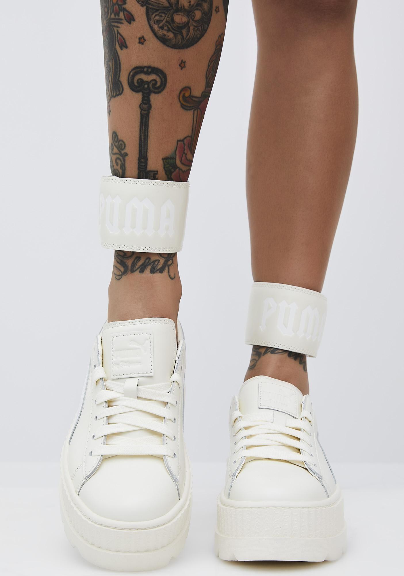 bb9377d331933c PUMA Vanilla FENTY PUMA by Rihanna Ankle Strap Sneaker