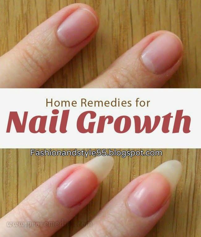 Fashion And Style: Best Home Remedies For Nail Growth