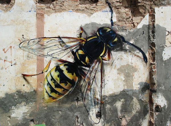 Avispa (Image credit: Tretze)    A giant bee to scare away the apiphobics.