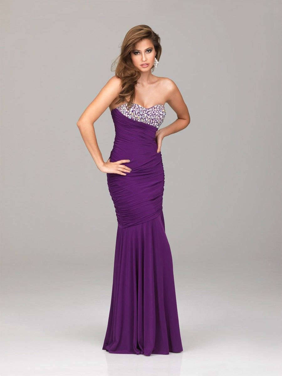 Sweetheart Purple Military Ball Dress | Military Ball | Pinterest | Ropa
