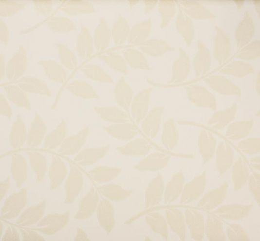 Neutral Trellis Wallpaper: Tivoli Leaf Wallpaper Matt Light Beige Leaf Pattern On A