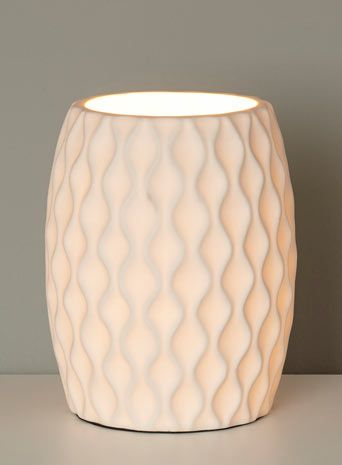 Kirby white table lamp