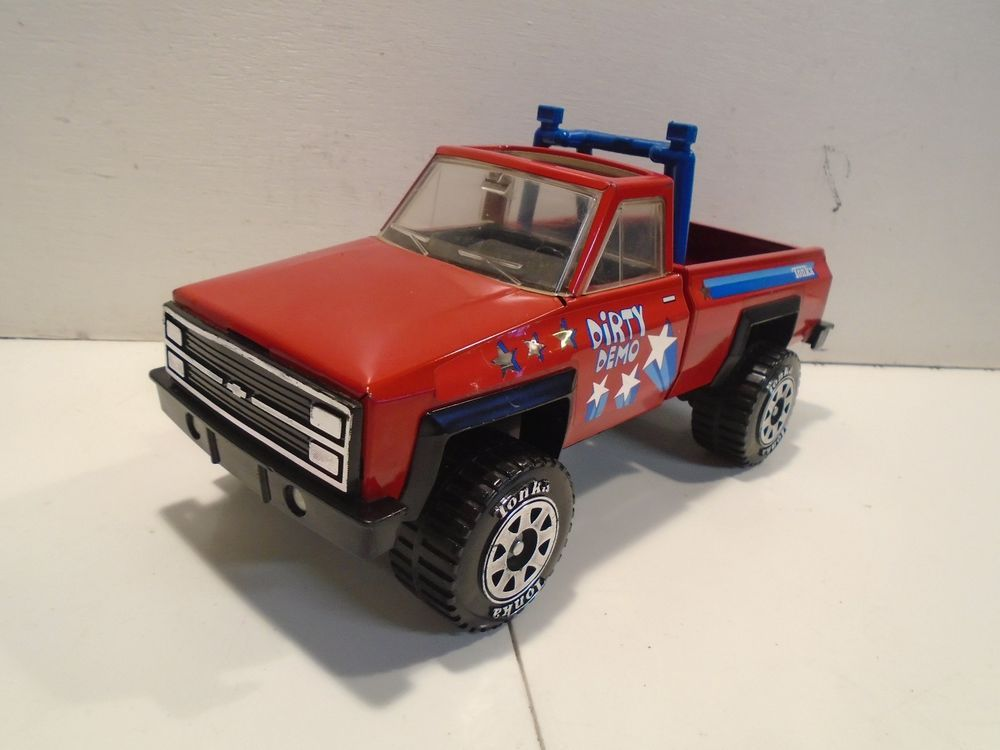Tonka Dirty Demo Pickup Truck Vintage 1980s Chevrolet