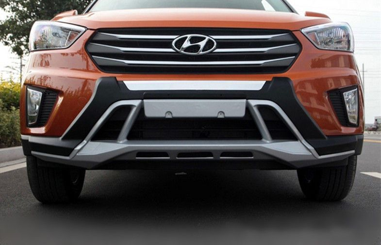 Hyundai Creta Front And Rear Bumper Guard Side Foot Step