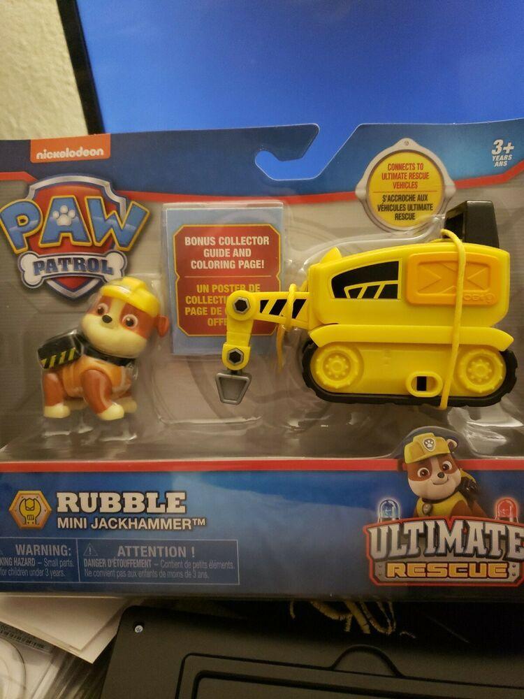 Quatang Gallery- Paw Patrol Rubble Mini Jackhammer Yellow Rubble Paw Patrol Nickelodeon In 2020 Rubble Paw Patrol Paw Patrol Paw