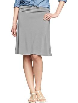 ed12eb8b8 Women's Fold-Over Jersey Skirts   Old Navy   Clothes   Jersey skirt ...