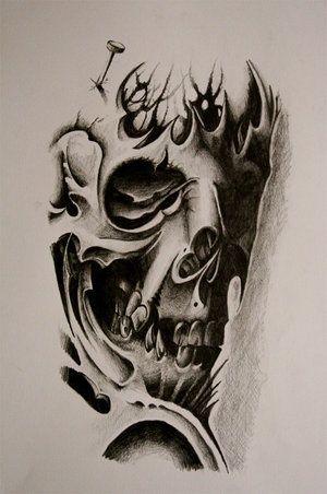 Sugar Skull Tattoo By Metacharis On Deviantart Skulls Drawing Skull Tattoo Design Skull Tattoo