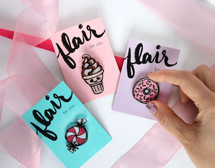 Make your own adorable lapel pins in sweet shapes using shrinky dinks! Totally fun and totally customizable. This post contains affiliate links when possible and was previously shared at Darice. A little while back I shared some fun DIY emoji pinsthat were a lot of fun to make, and today I have another DIY pin...Read More »