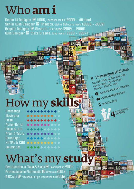 Thanan Creative Resume Inspiration | Job | Pinterest | Creative ...