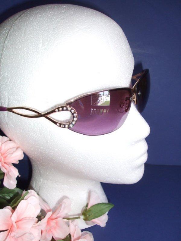 3810bb8e8d1 Women s RocaWear Sunglasses R220 Gold Purple with Purple Lens  Rocawear   16.90...  eBay