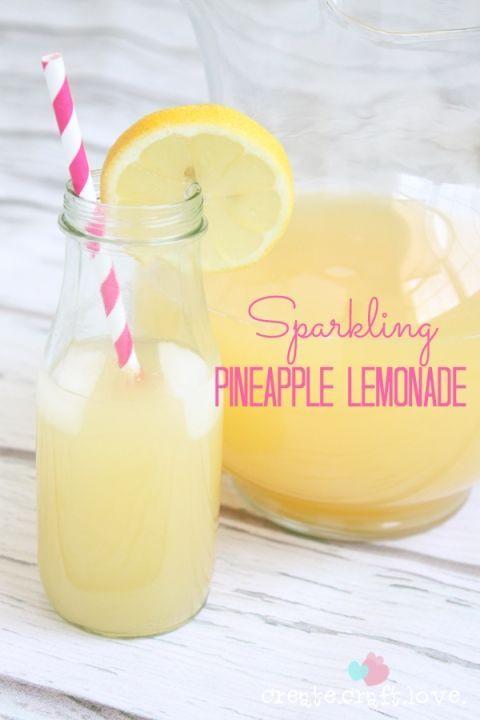 Sparkling Pineapple Lemonade
