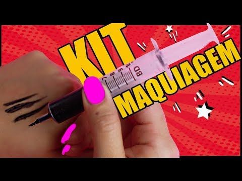 Kit De Maquiagem Caseira 36 Kim Rosacuca Beleza Pinterest