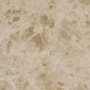 Msi Emperador Light 12 In X 12 In Polished Marble Floor And Wall Tile 10 Sq Ft Case Temlgt1212 Marble Floor Stone Flooring Natural Stone Flooring