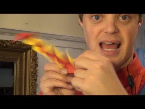 Have an origami Heart Attack! by Jeremy Shafer. - YouTube