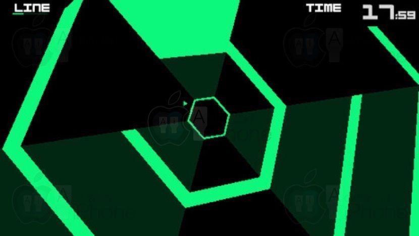 Descarga Super Hexagon Gratis Con La App De La Apple Store Gracias Nervios Iphone