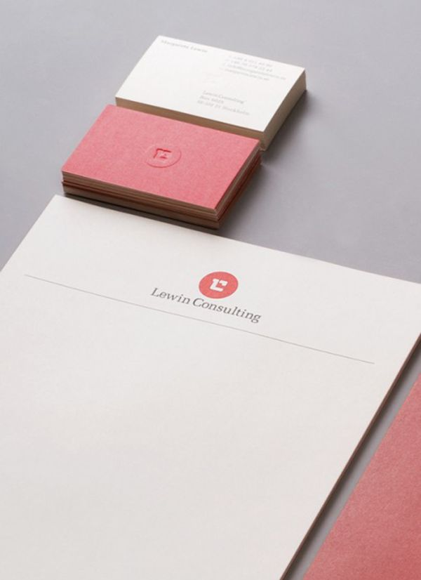 Lewin Consulting Creative Examples Of Letterhead Designs  Fun