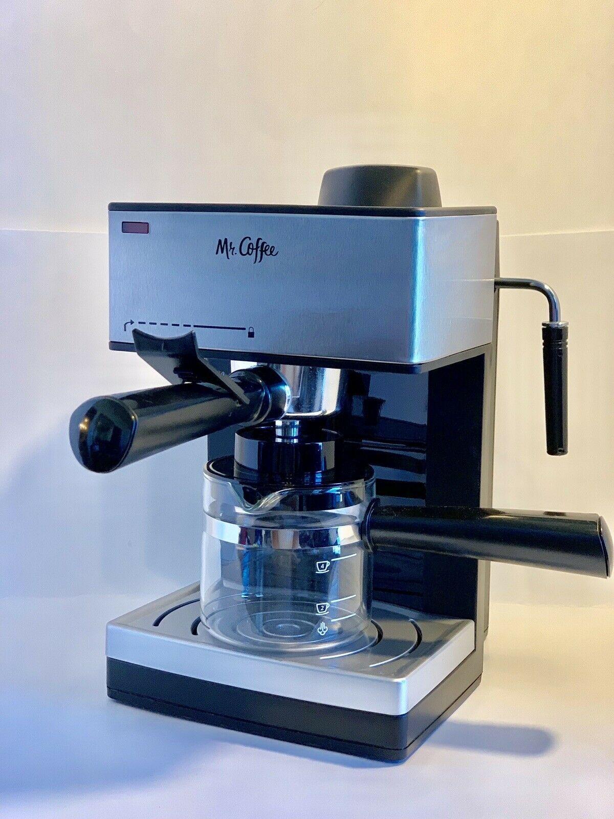 Mr. Coffee Steam Espresso and Cappuccino Maker With Milk