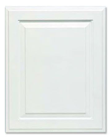 2 Piece Revere C Panel 949 White Thermofoil Cabinet Door Rtf Thermofoil Cabinets Cabinet Doors Raised Panel Doors