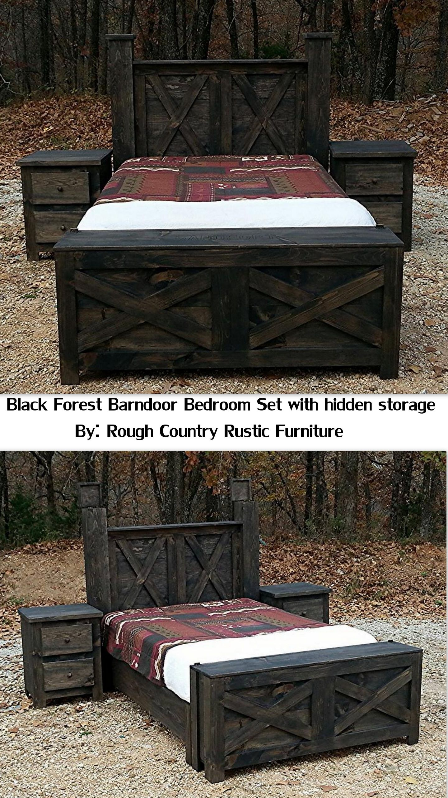 pc tactical black forest barndoor bedroom setprice starting at
