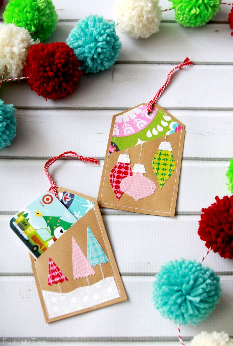 Colorful Stitched Gift Card Holders -   Best of Pinterest ...