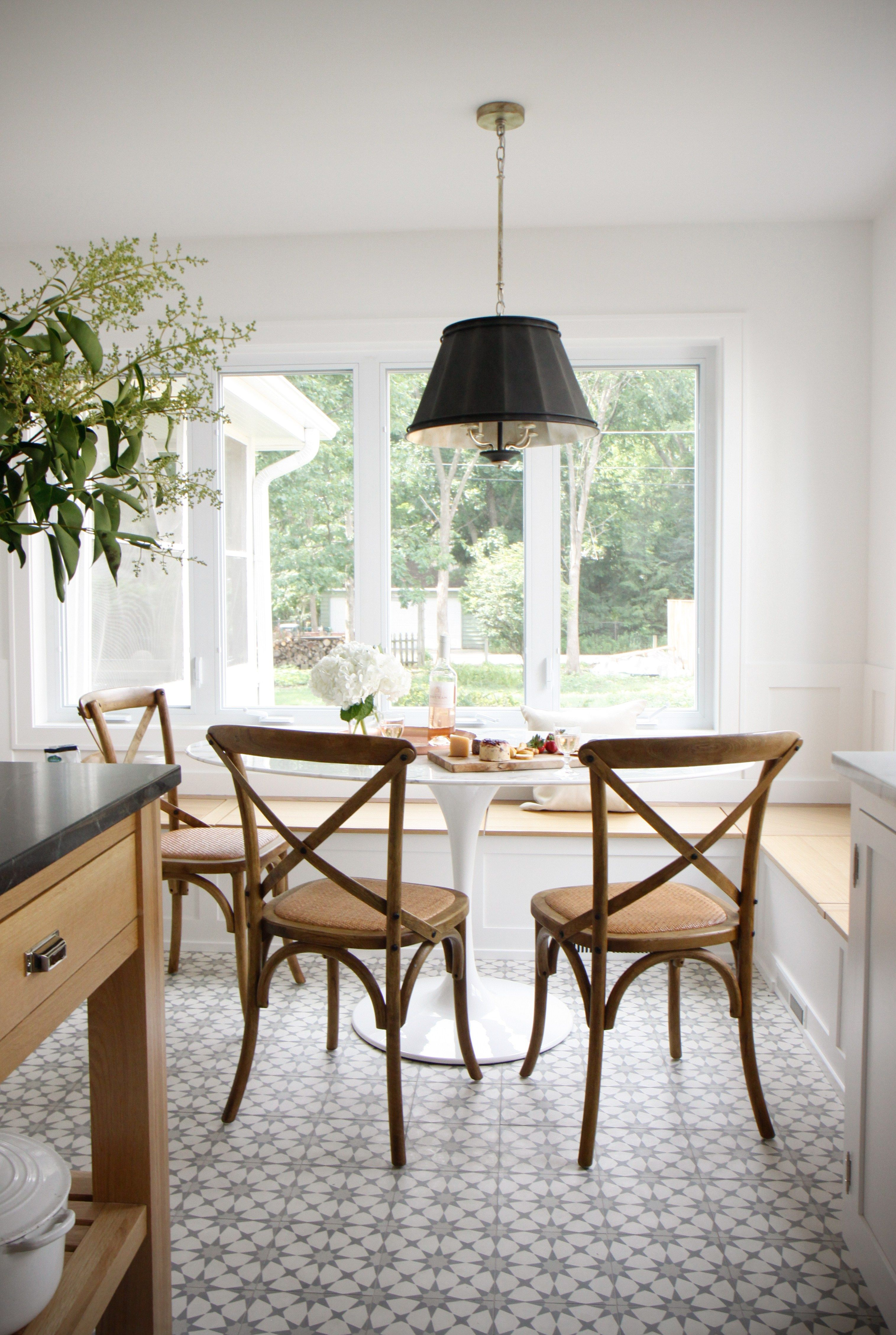 Wilmette Renovation Kitchen Before And After Park And Oak Interior Design Dining Nook Dining Room Design Dining Room Decor