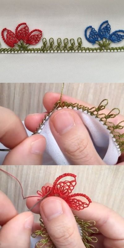 Photo of You Must Learn This Needle Lace Pattern