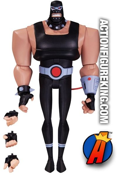 The #BATMAN Adventures Animated Series #BANE 6-inch scale action