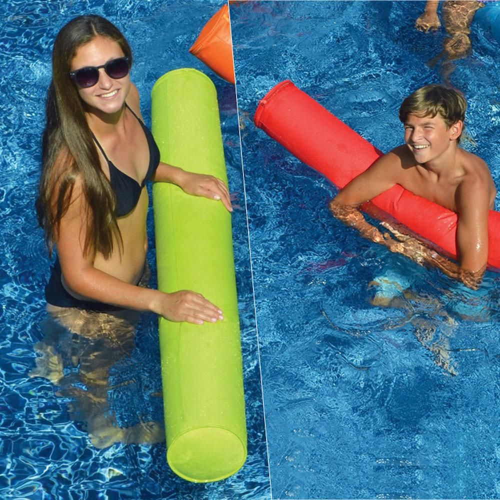 Swimline Sunsoft Inflatable Doodles Lime And Red Pool Toy Game 2 Pack 15070lr The Home Depot Swimming Pool Toys Pool Toys For Adults Pool