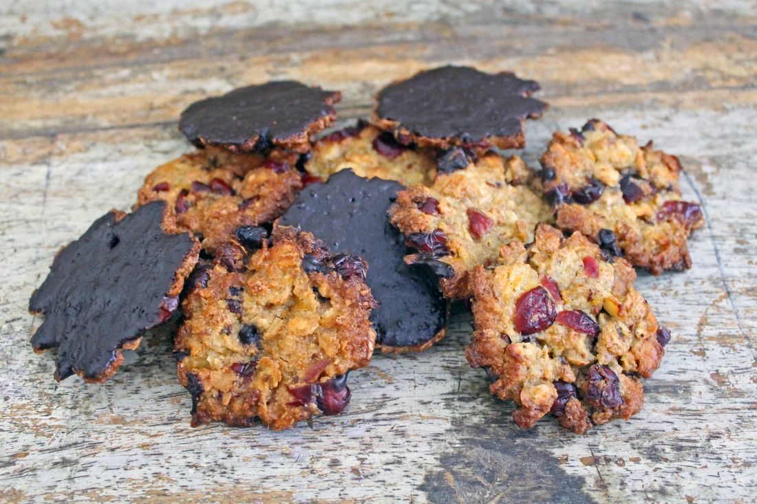 AIP, low FODMAP florentine biscuits - The Nourished Coeliac