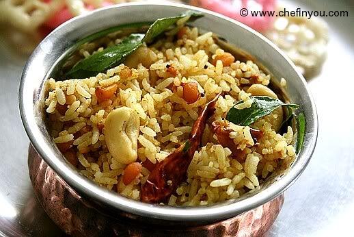 Puliyodharai Recipe Iyengar