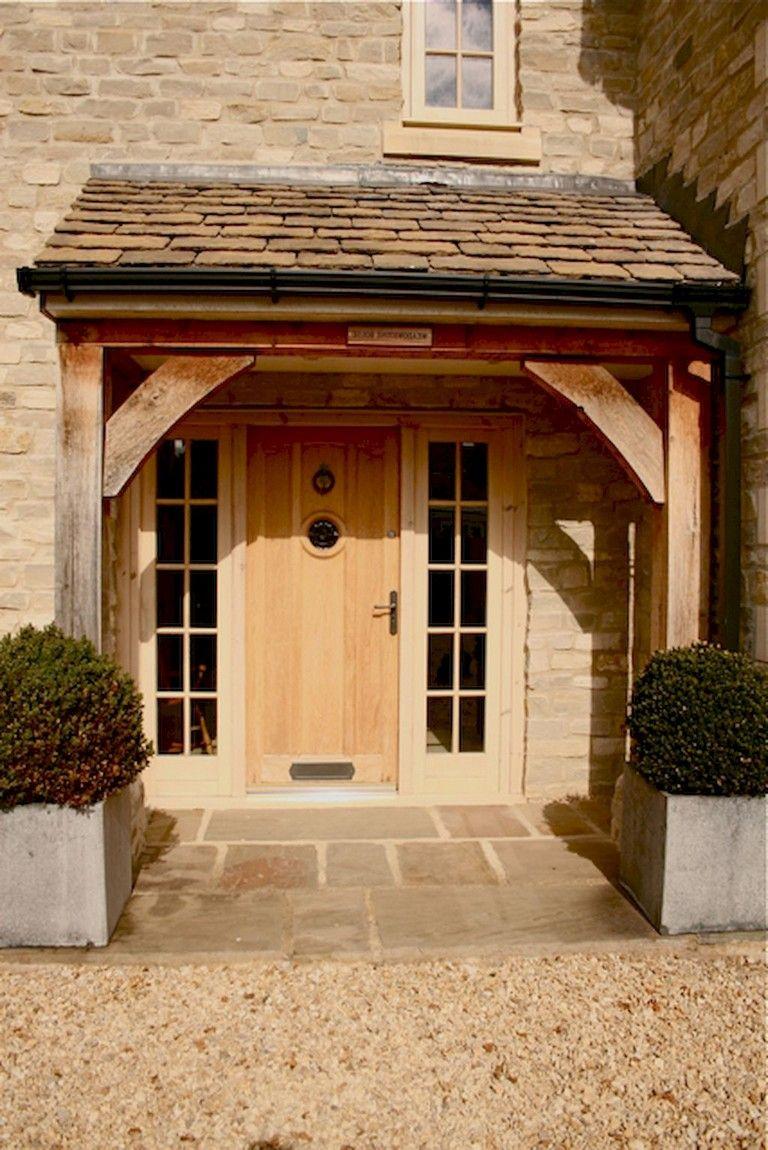 75 Marvelous Exterior House Porch Ideas With Stone Columns Ideas
