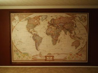 National geographic executive world map wall mural amazon v national geographic executive world map wall mural amazon gumiabroncs Choice Image