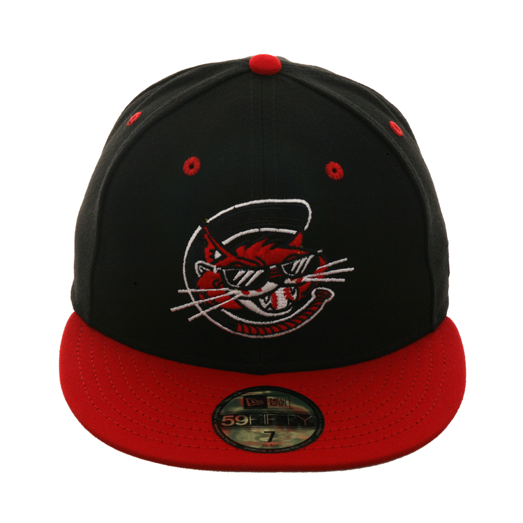ee4f489ccd5 Exclusive New Era 59Fifty Charleston Alley Cats Hat - 2T Black