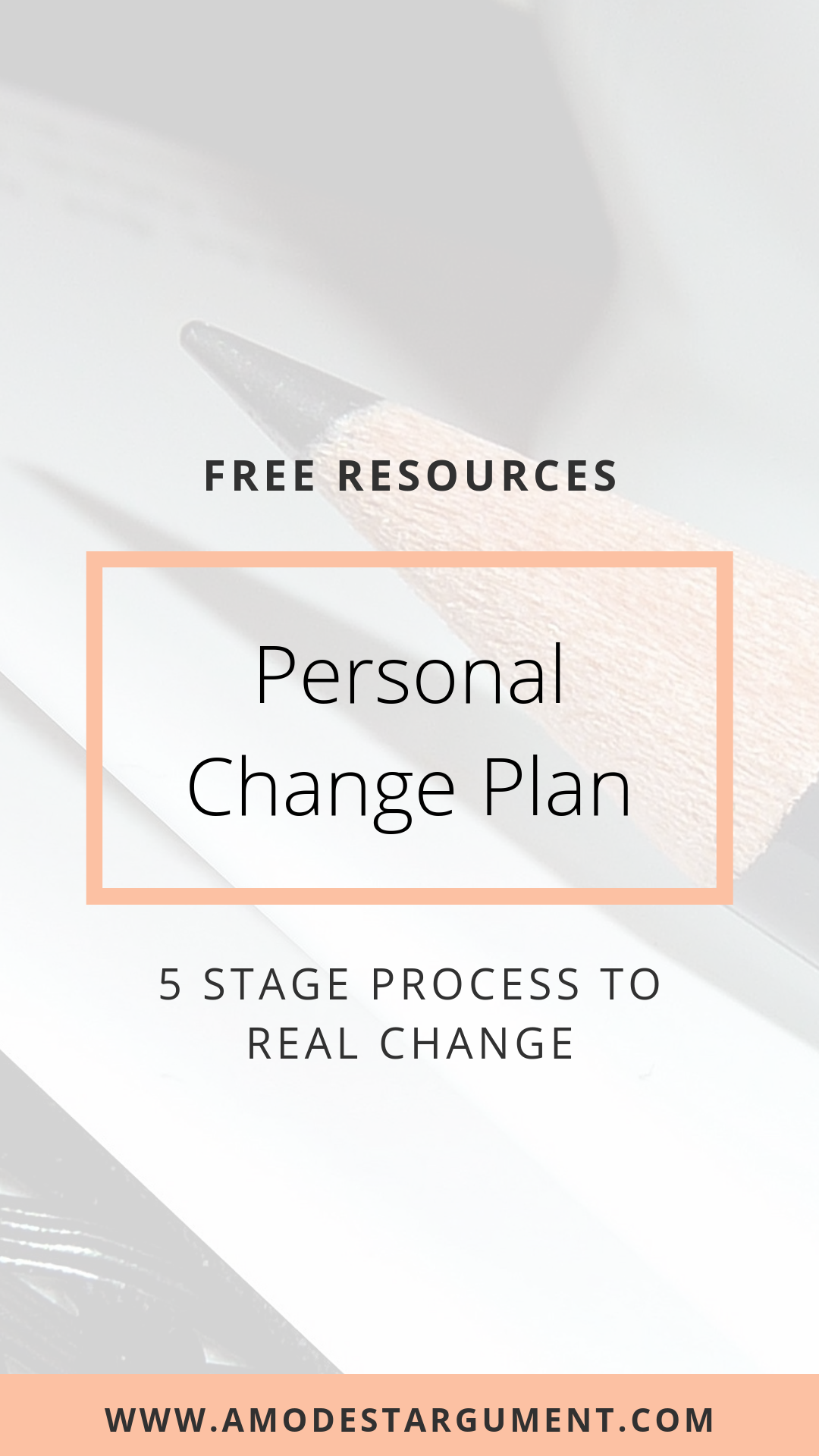 Get Your Free Personal Change Plan With A 5 Step Process