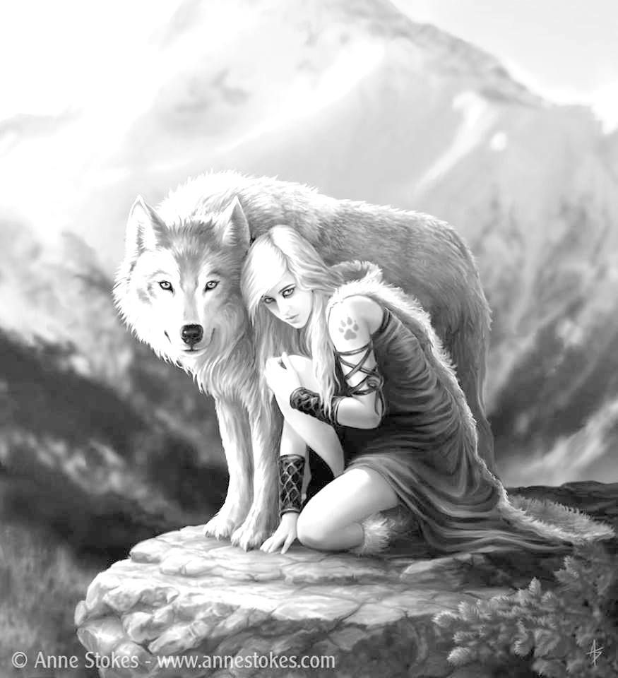 Pin Van Charlie N Op Nieuwe Kleurplaten Wolf Kunst Anime Wolf Coole Tekeningen