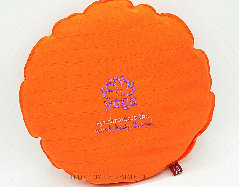 Meditationskissen Sitzkissen Lotus für Kinder Yoga