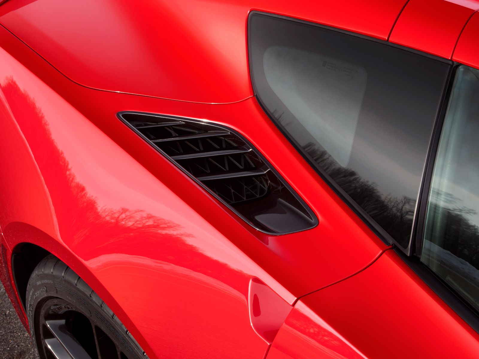 Rear Fender Vent | 2014 Corvette Stingray | 2014 corvette