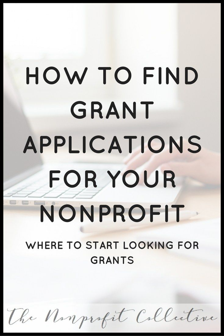 How Do I Find Grants for a Nonprofit? | Fundraising, Grant writing ...