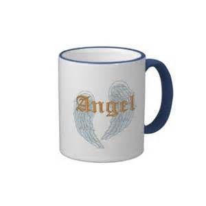 ANGEL COFFEE MUGS - ANGEL WINGS