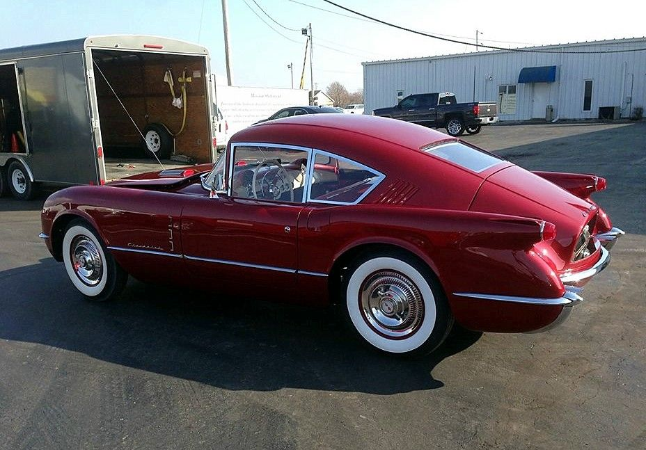 "1954 Motorama Corvette ""Corvair"" coupe concept… re-creation / Jim & Chester's Garage"
