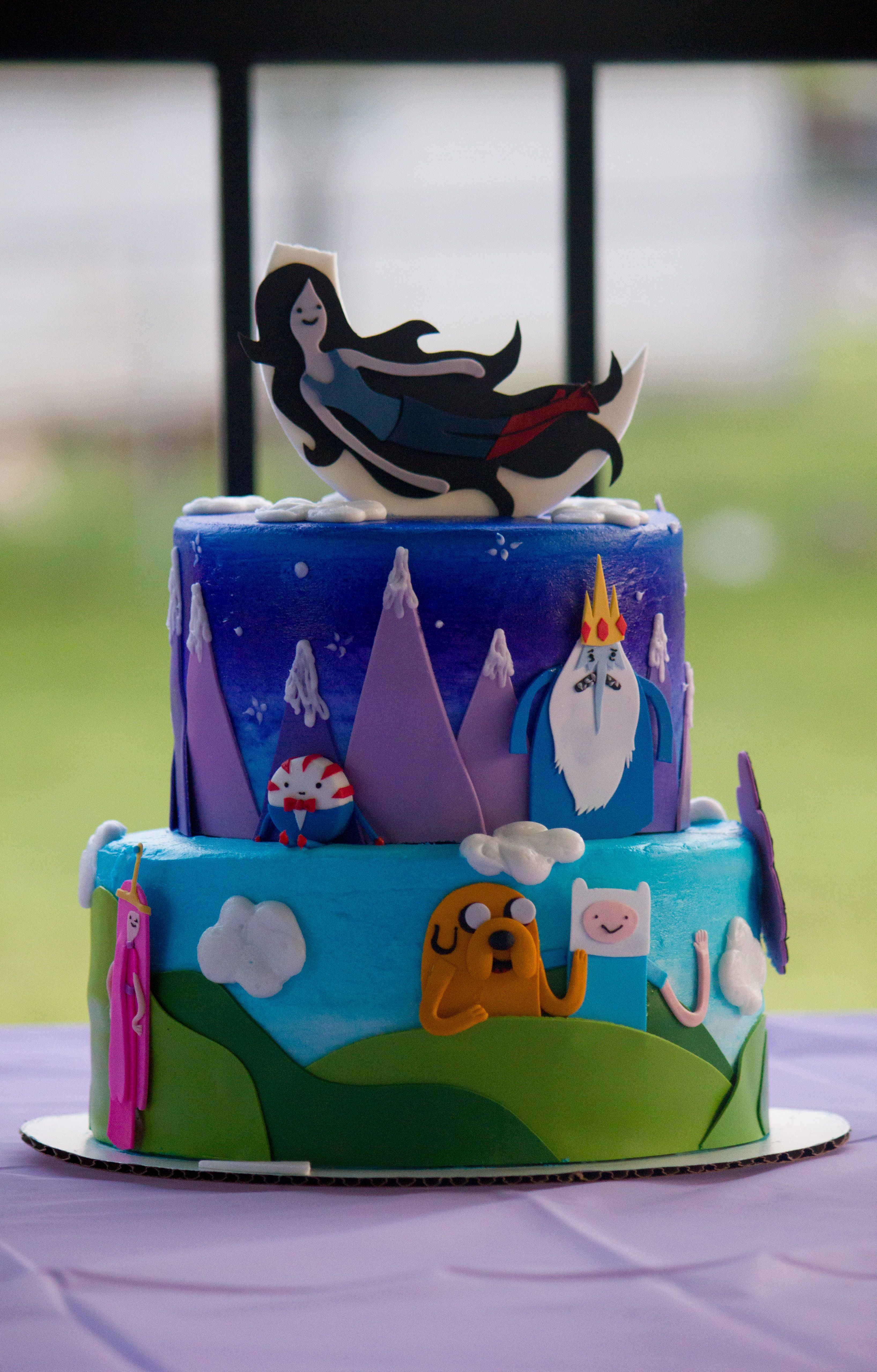 Emilies Adventure Time Birthday Cake From Eat My Cake In Dallas Tx
